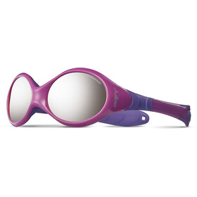 Julbo Looping III Spectron 4 Aurinkolasit 2-4Y Lapset, pink/purple-gray flash silver